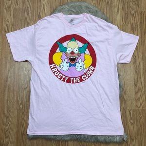 5c5fd97a4 Krusty the Clown T-shirt Size XL